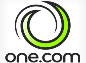 One.com webhotel logo
