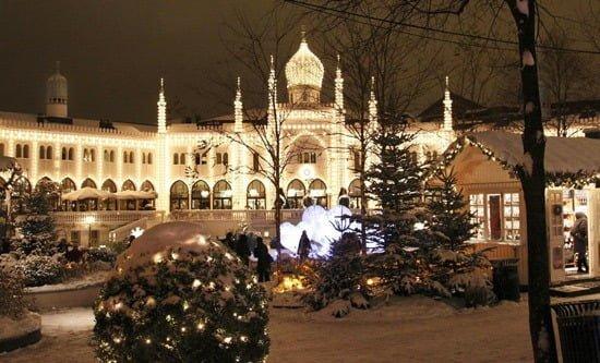 Jul i Tivoli København