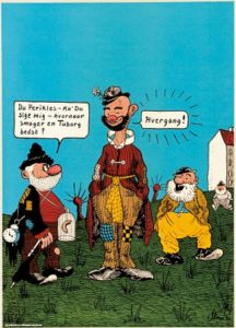 carlsberg perikles retro plakat