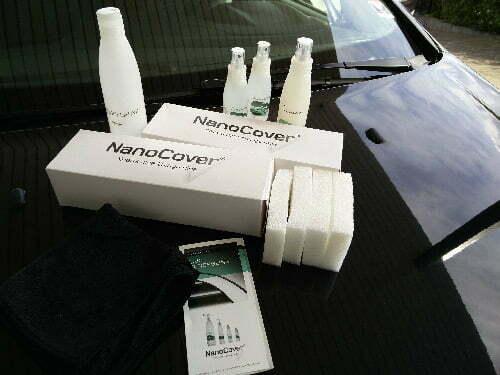 Anmeldelse af lakforsegling til bilen med NanoCover