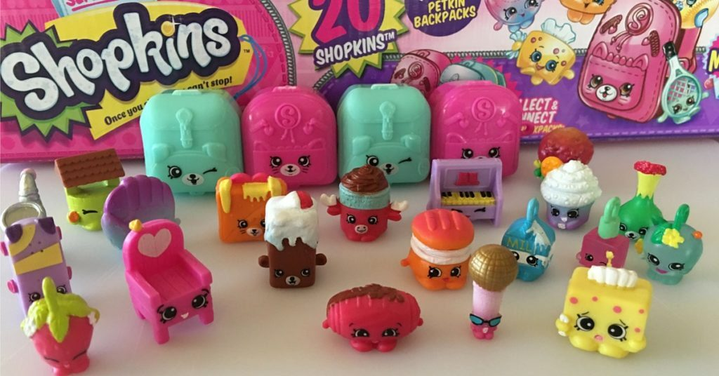 shopkins figurer og saet