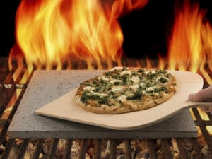 pizzasten i lava fra etna