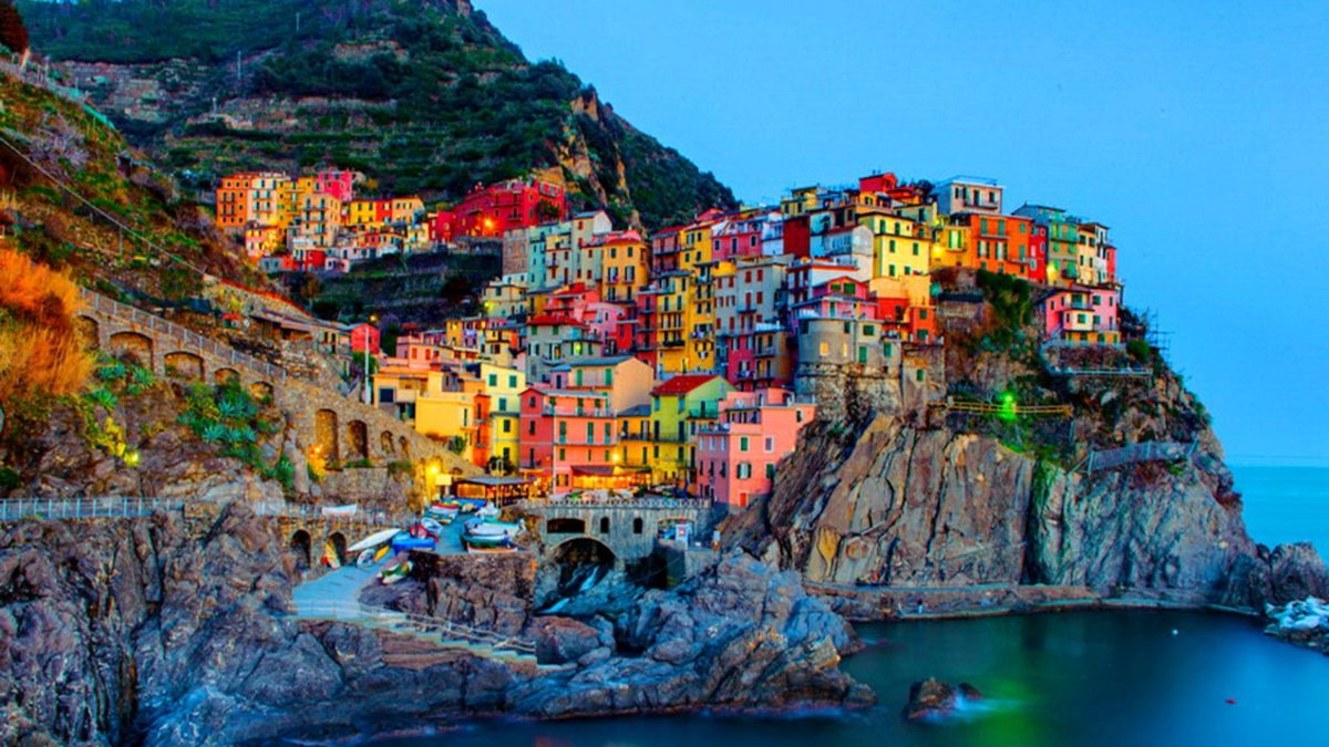 Cinque-Terre-Riomaggiore-Italien