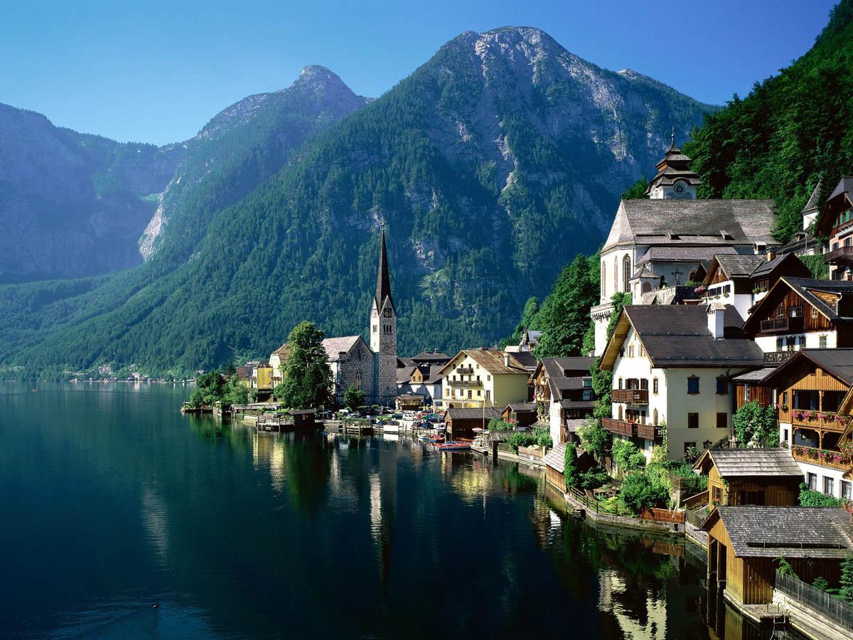 Hallstatt Østrig