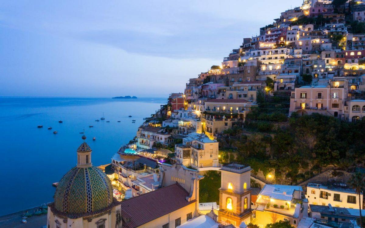 Positano, Amalfi Kysten, Italien