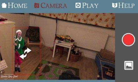 Nisser FINDES! (Be)vis det med Santa Spy Cam app 😃🎅